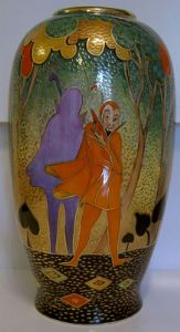 Carlton Ware - Marie Graves Large Vase - Mephistopheles - SOLD